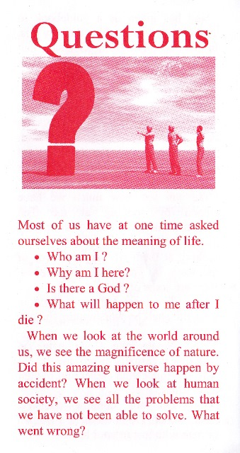 sos ministries free gospel tract downloads - question tract
