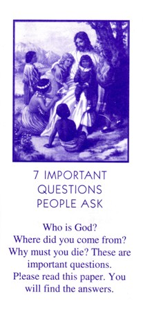 Children's Tract sos ministries free tracts download
