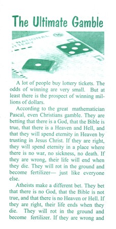 the ultimate gamble sos ministries free gospel tracts downloads