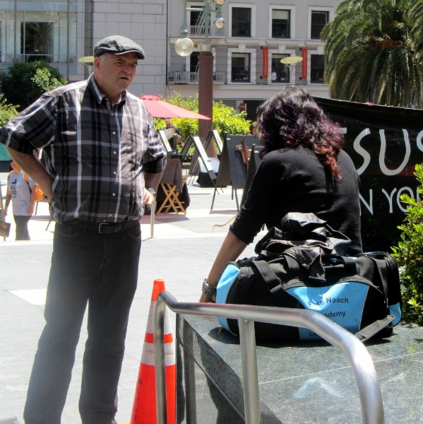 LARRY DUBOIS WITNESSES TO ENNA AT UNION SQUARE