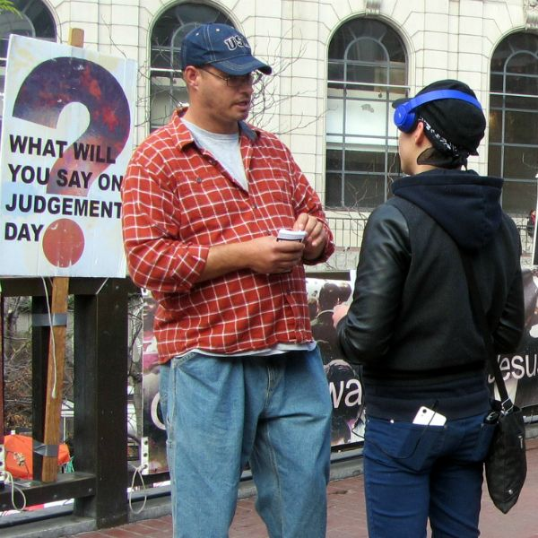 SEAN WITNESSES AT 5TH AND MARKET.